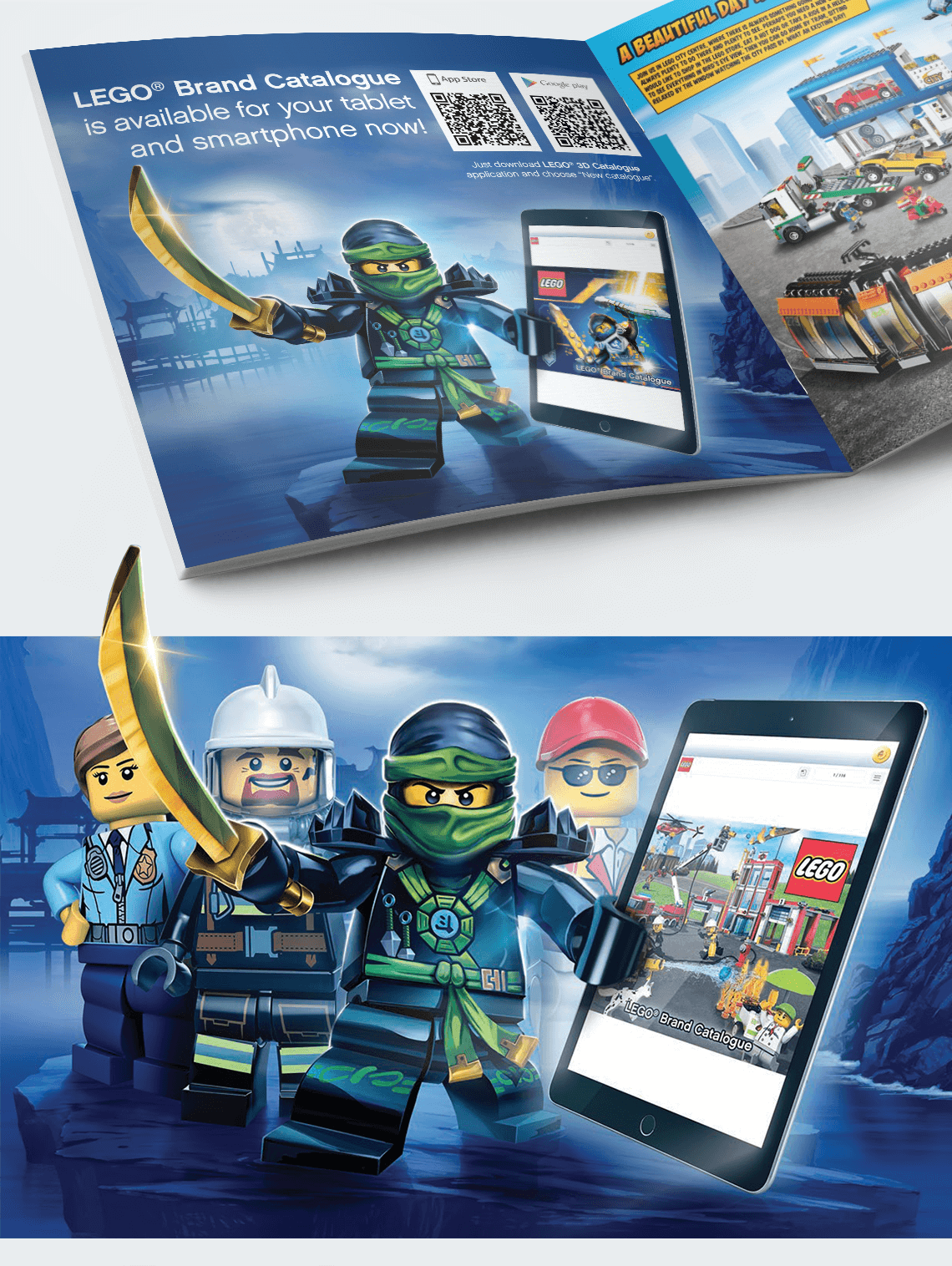 3D Catalogue Mobile App Promo - Mindstream